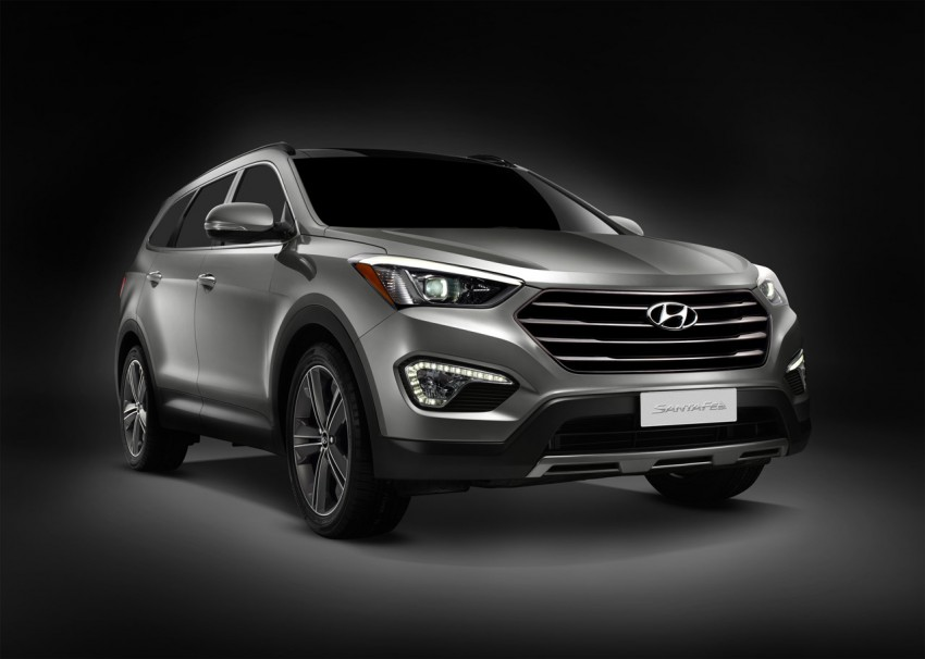 Hyundai Santa Fe – two wheelbase options for third-gen Image #99414