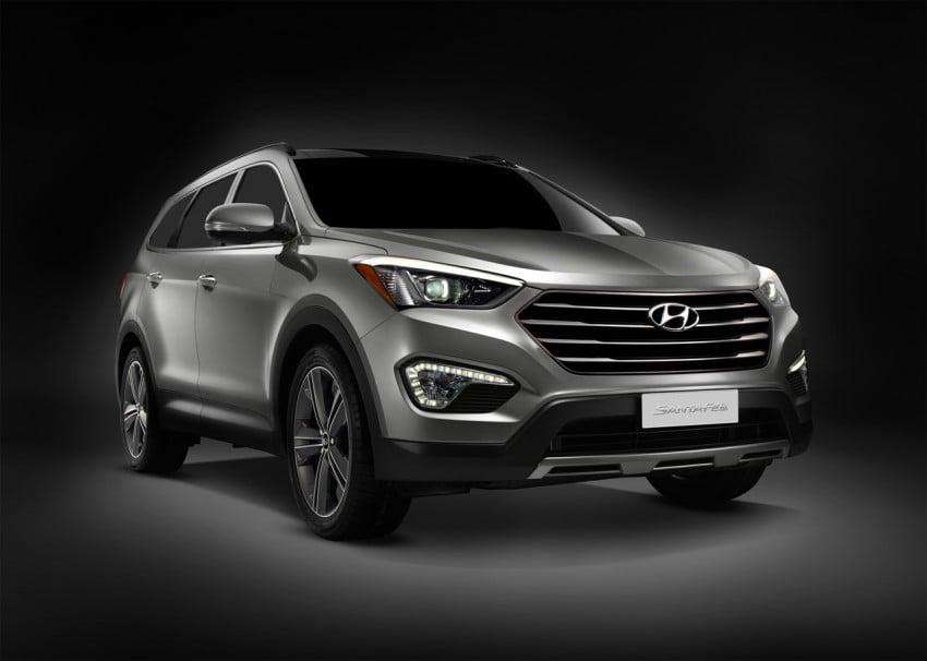 Hyundai Santa Fe – two wheelbase options for third-gen Image #99414