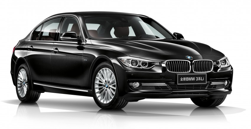 Long wheelbase BMW 3-Series – made in China for China Image #99546