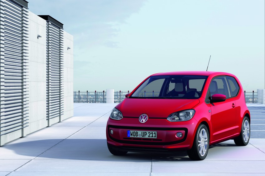 Volkswagen up! – production car debut at Frankfurt 2011 Image #69840