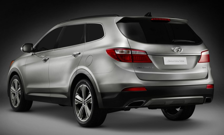 Hyundai Santa Fe – two wheelbase options for third-gen Image #99415
