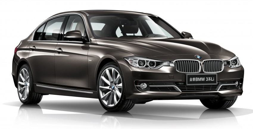 Long wheelbase BMW 3-Series – made in China for China Image #99544