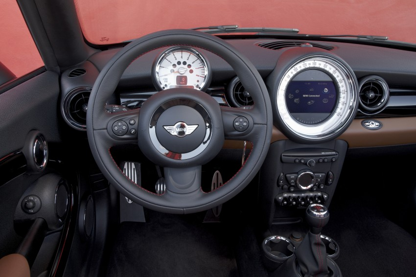 MINI Roadster – production drop top MINI Coupe unveiled! Image #74881