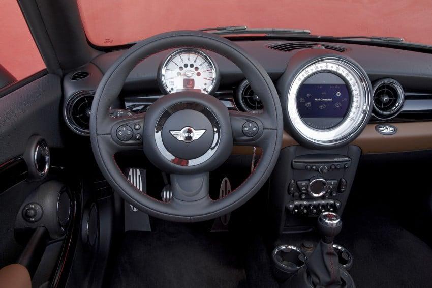 MINI Roadster – production drop top MINI Coupe unveiled! Image #74881