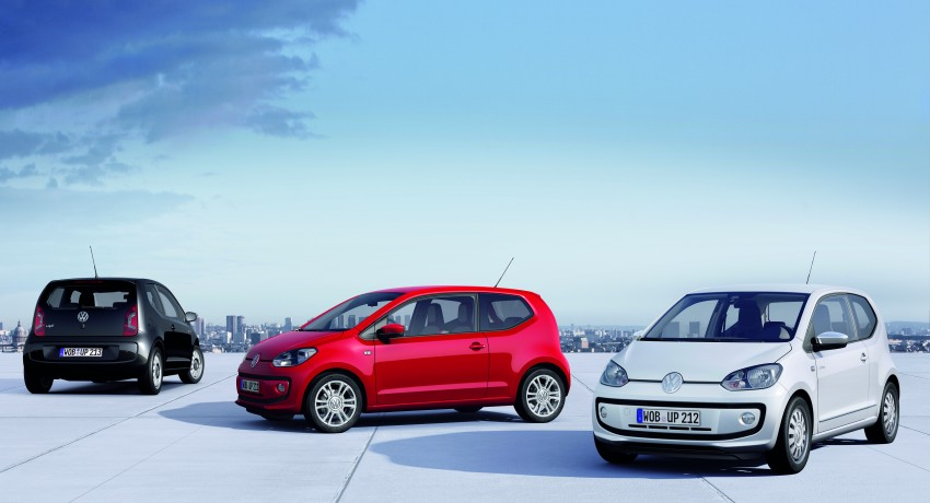 Volkswagen up! – production car debut at Frankfurt 2011 Image #69841