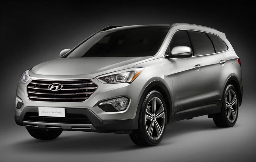 Hyundai Santa Fe – two wheelbase options for third-gen Image #99416