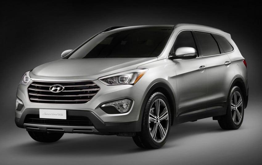 Hyundai Santa Fe – two wheelbase options for third-gen Image #99416