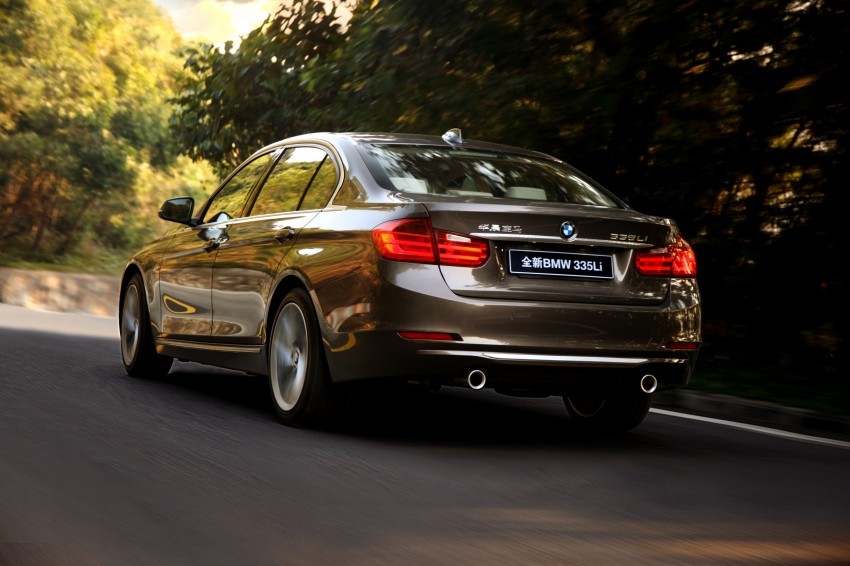 Long wheelbase BMW 3-Series – made in China for China Image #99550