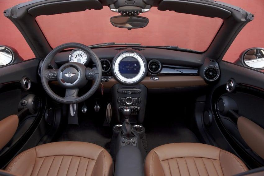 MINI Roadster – production drop top MINI Coupe unveiled! Image #74882