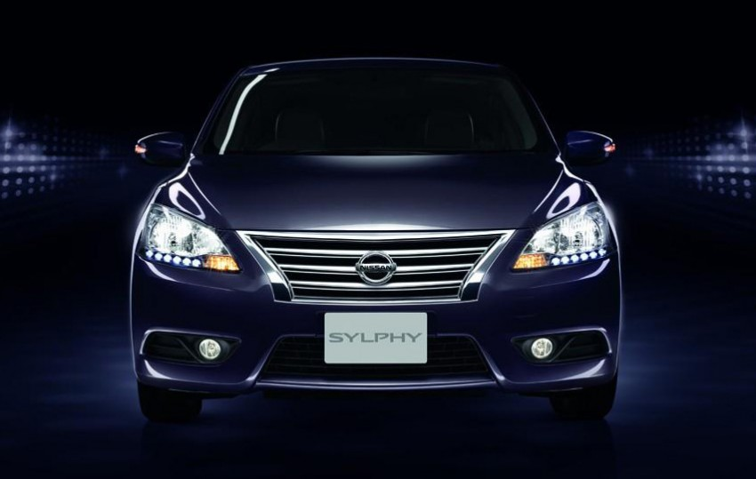 Nissan Sylphy launched in Thailand – new model gets improved 1.6, new 1.8, CVT; from 746,000 baht Image #127973