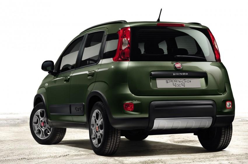 Fiat Panda 4×4 set for Paris Motor Show 2012 premiere Image #128309