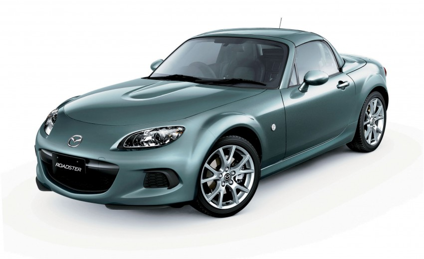 Mazda MX-5 upgraded and now being sold in Japan Image #116342