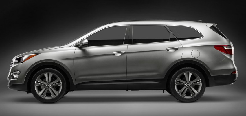 Hyundai Santa Fe – two wheelbase options for third-gen Image #99417