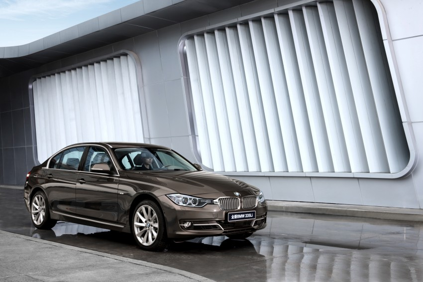 Long wheelbase BMW 3-Series – made in China for China Image #99552