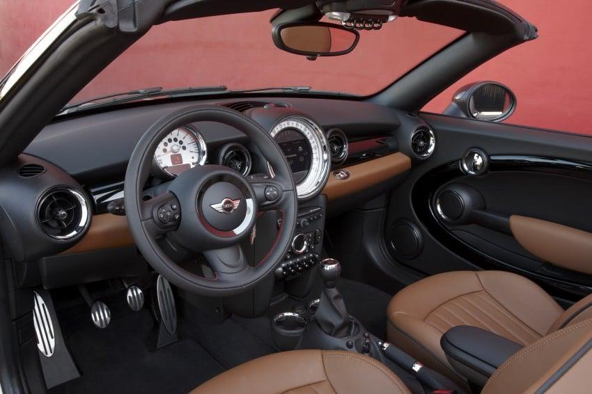 MINI Roadster – production drop top MINI Coupe unveiled! Image #74884