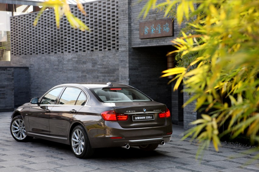 Long wheelbase BMW 3-Series – made in China for China Image #99549