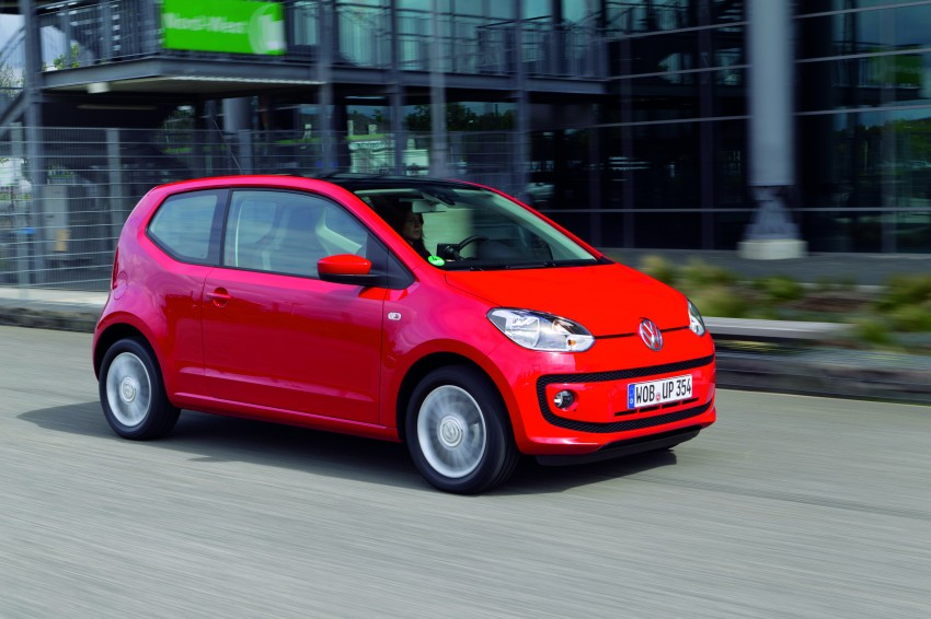 Volkswagen up! – production car debut at Frankfurt 2011 Image #69844