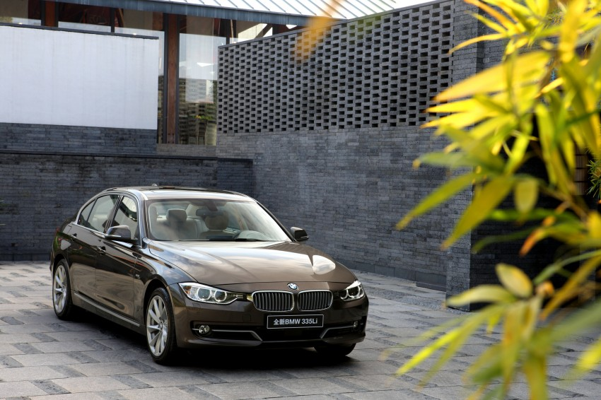 Long wheelbase BMW 3-Series – made in China for China Image #99547
