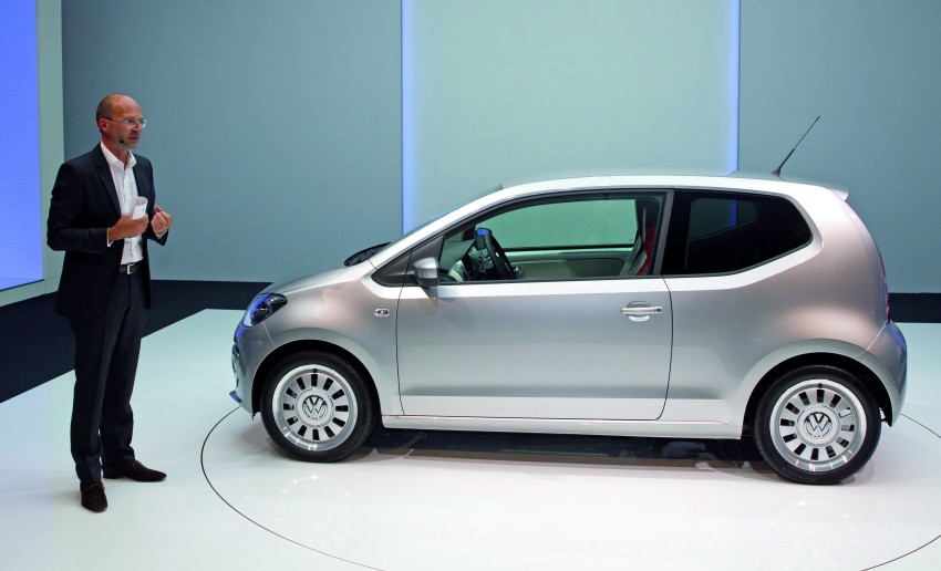 Volkswagen up! – production car debut at Frankfurt 2011 Image #69846
