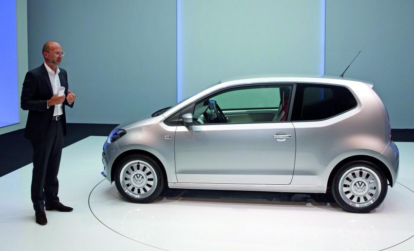 Volkswagen up! – production car debut at Frankfurt 2011 Image #69846