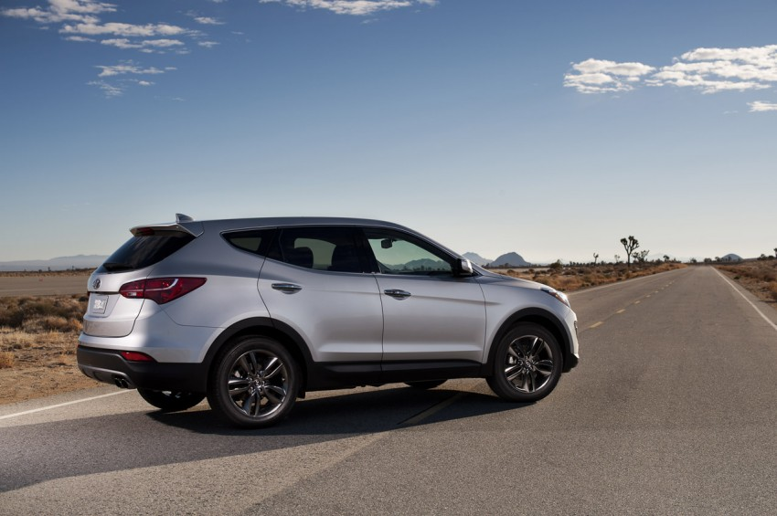 Hyundai Santa Fe – two wheelbase options for third-gen Image #99421