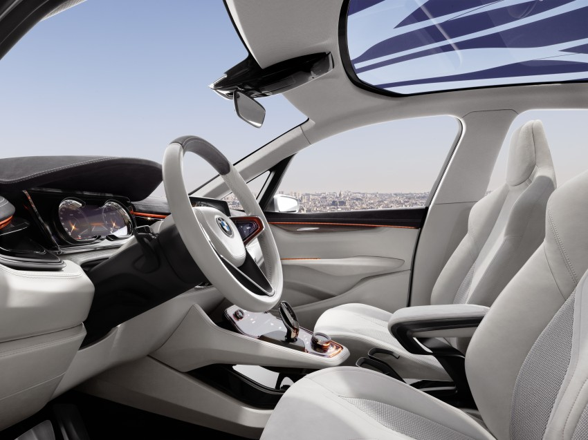 BMW Concept Active Tourer: Munich's B-Class competitor is front wheel drive! Image #131384