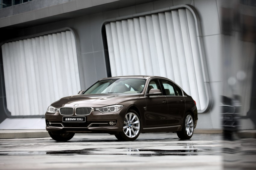 Long wheelbase BMW 3-Series – made in China for China Image #99559