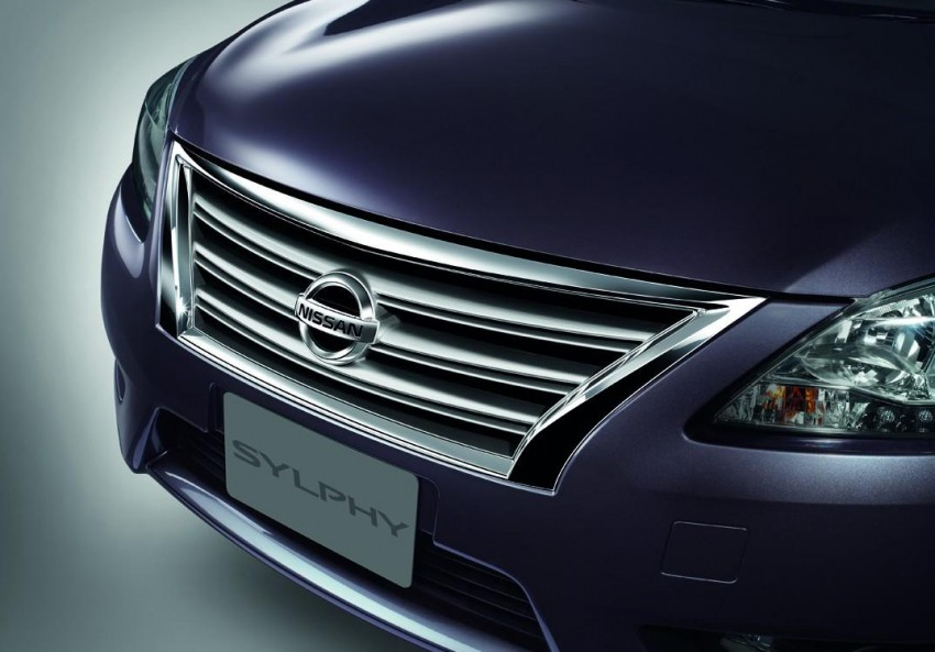 Nissan Sylphy launched in Thailand – new model gets improved 1.6, new 1.8, CVT; from 746,000 baht Image #127978