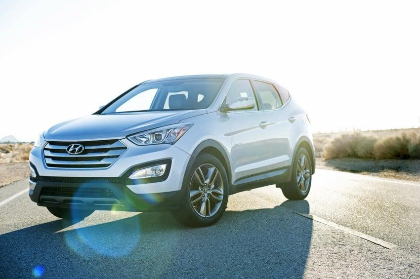 Hyundai Santa Fe – two wheelbase options for third-gen Image #99422