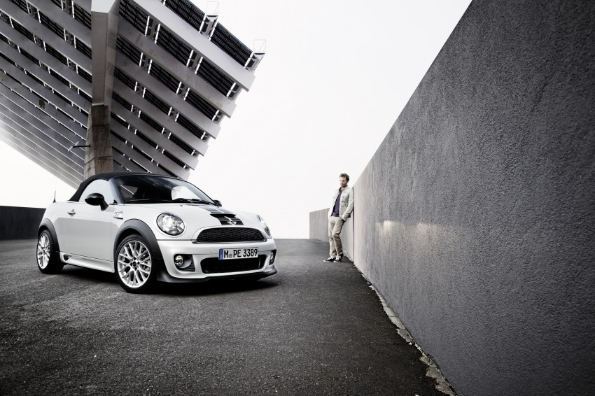 MINI Roadster – production drop top MINI Coupe unveiled! Image #74896