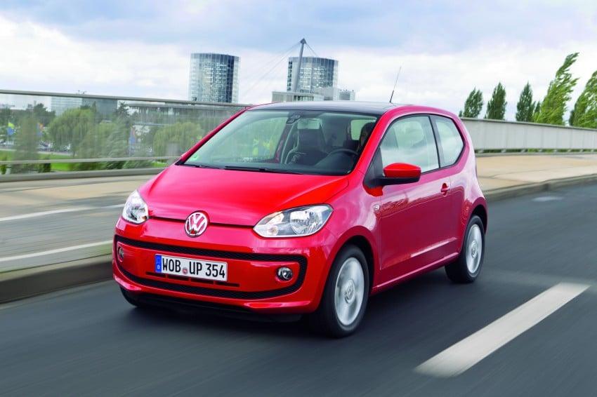 Volkswagen up! – production car debut at Frankfurt 2011 Image #69848
