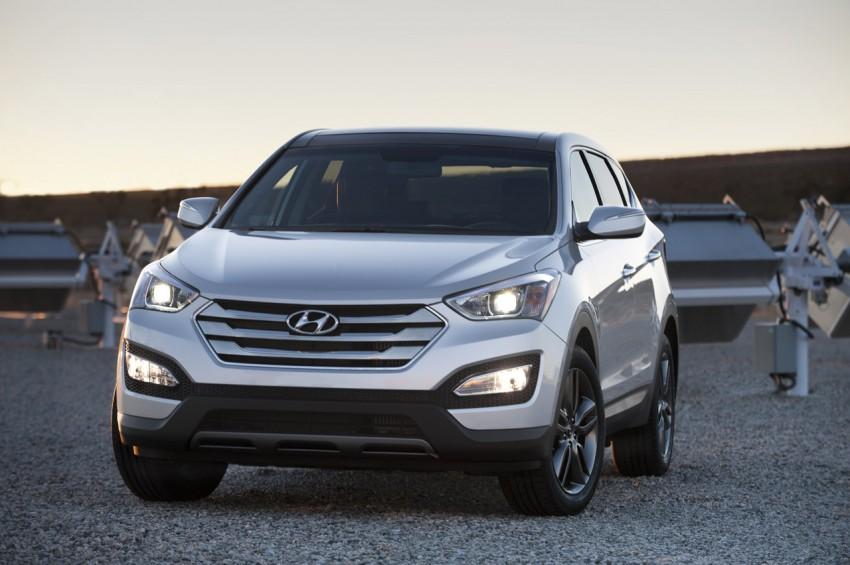 Hyundai Santa Fe – two wheelbase options for third-gen Image #99423