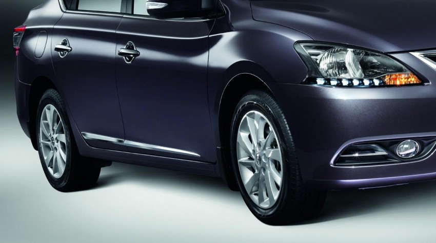 Nissan Sylphy launched in Thailand – new model gets improved 1.6, new 1.8, CVT; from 746,000 baht Image #127980