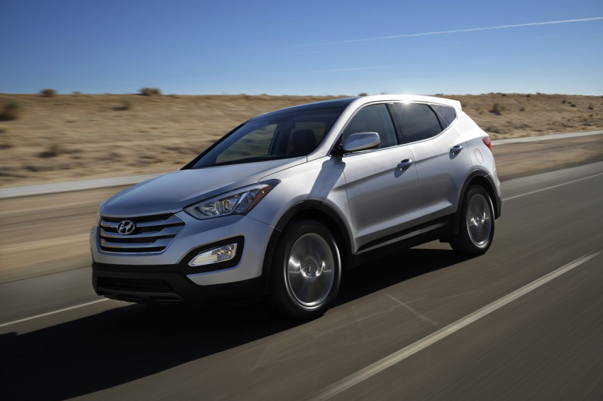 Hyundai Santa Fe – two wheelbase options for third-gen Image #99424