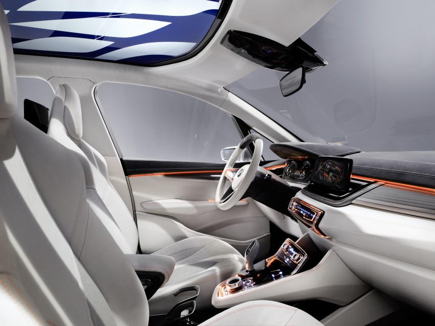 BMW Concept Active Tourer: Munich's B-Class competitor is front wheel drive! Image #131387