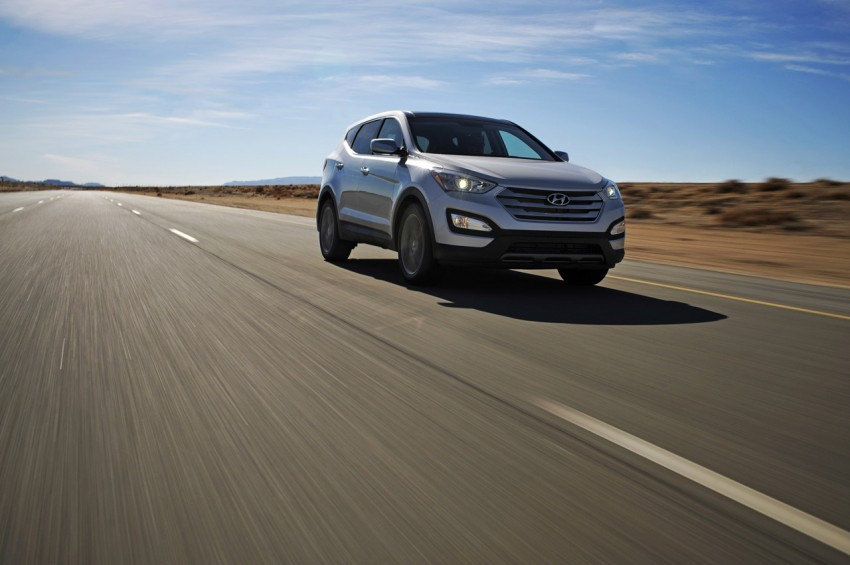 Hyundai Santa Fe – two wheelbase options for third-gen Image #99425