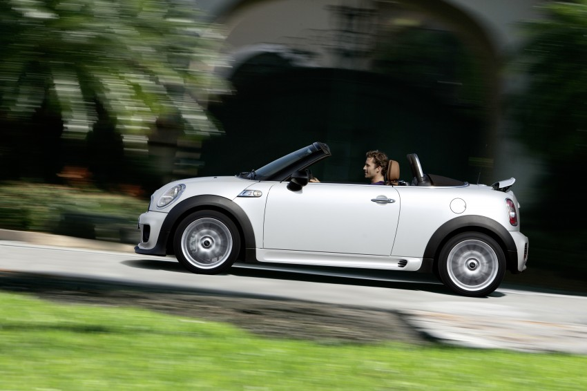 MINI Roadster – production drop top MINI Coupe unveiled! Image #74902