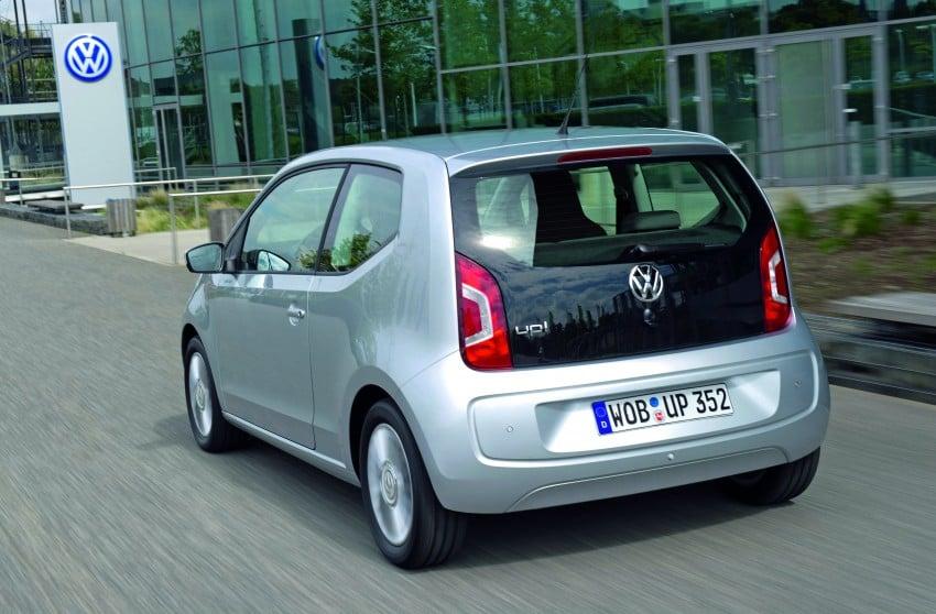 Volkswagen up! – production car debut at Frankfurt 2011 Image #69852