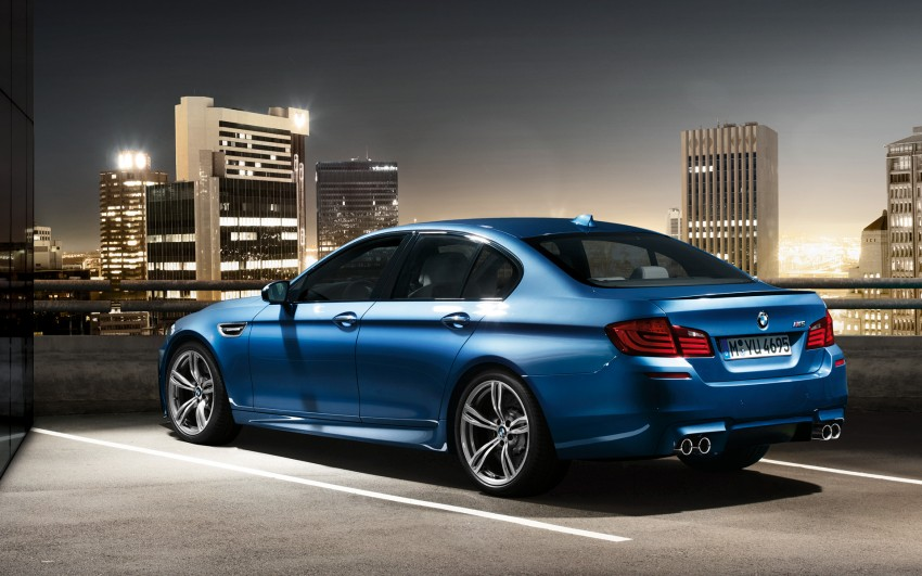F10 BMW M5 to be launched on March 10, 2012 Image #86701