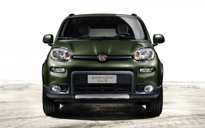 Fiat Panda 4×4 set for Paris Motor Show 2012 premiere Image #128310
