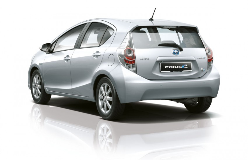 New Toyota Prius c officially launched – RM97,000 OTR! Image #88862