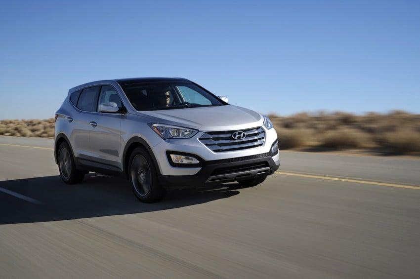 Hyundai Santa Fe – two wheelbase options for third-gen Image #99427