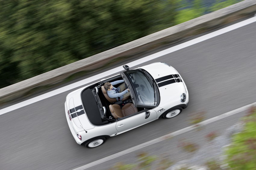 MINI Roadster – production drop top MINI Coupe unveiled! Image #74904