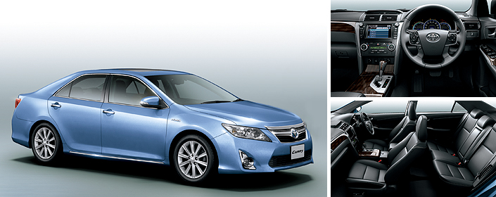 New generation Toyota Camry Hybrid launched in Japan! Image #67198