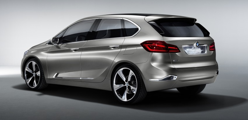 BMW Concept Active Tourer: Munich's B-Class competitor is front wheel drive! Image #131393