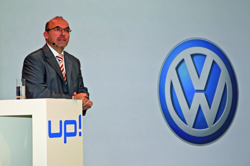 Volkswagen up! – production car debut at Frankfurt 2011 Image #69858