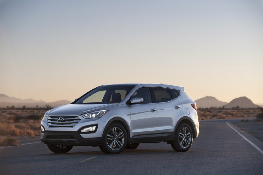 Hyundai Santa Fe – two wheelbase options for third-gen Image #99431