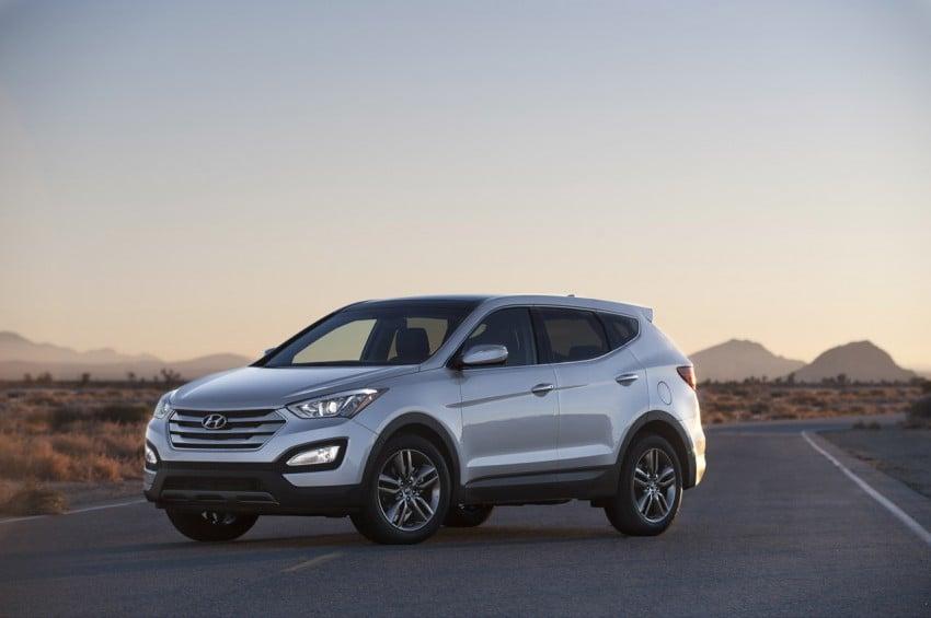 Hyundai Santa Fe – two wheelbase options for third-gen Image #99431
