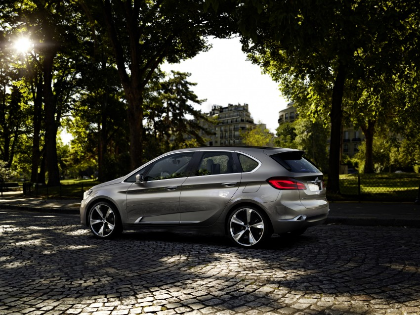 BMW Concept Active Tourer: Munich's B-Class competitor is front wheel drive! Image #131394