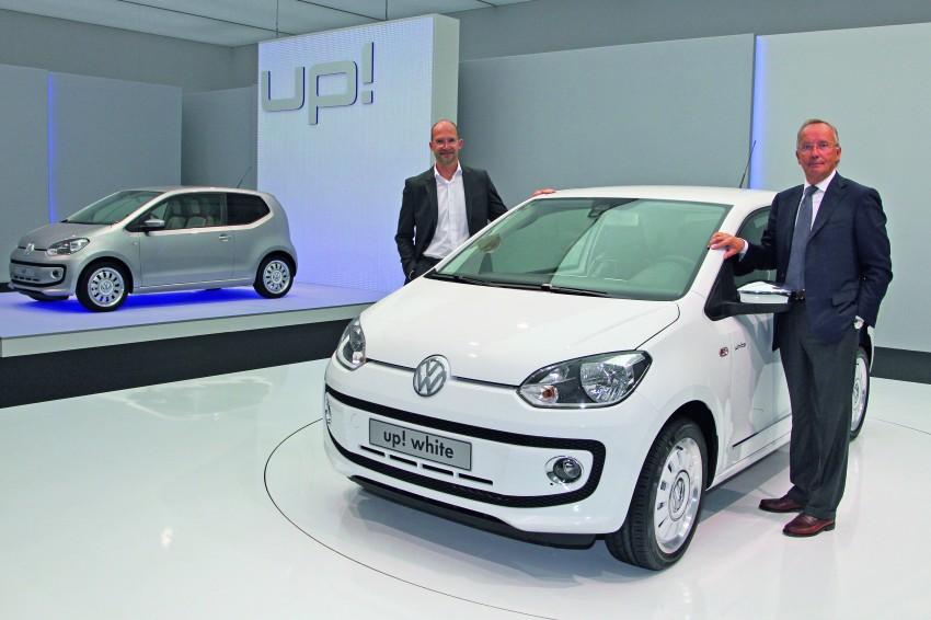 Volkswagen up! – production car debut at Frankfurt 2011 Image #69859